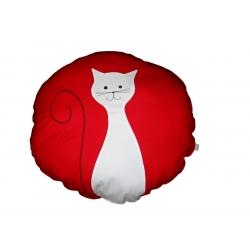Velký válecí polštář Kočička
