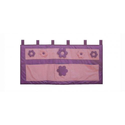 Kapsář za postel Kytička 150cm