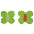 Dekorace Louka - motýlek zelený