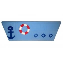 Kapsář za postel Námořník 200cm atyp
