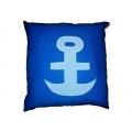 Polštářek Námořník - kotva světlá