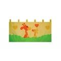 Kapsář za postel Žirafa 150cm