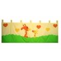 Kapsář za postel Žirafa 200cm