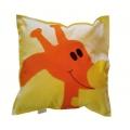 Polštářek Žirafa oranžová