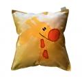 Polštářek Žirafa žlutá