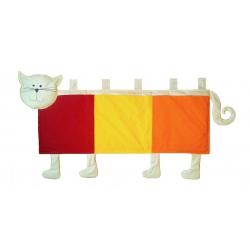 Kapsář za postel Kočička 150cm