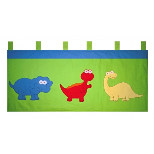 Kapsář za postel Dinosauři 150cm