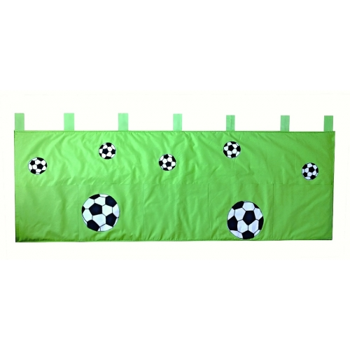 Kapsář za postel Fotbal 200cm