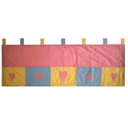 Kapsář za postel Romantika 200cm
