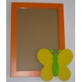 Fotorámeček oranžový Louka