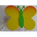 Lampa nástěnná Louka - motýl