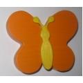 Úchyt Motýlek oranžový