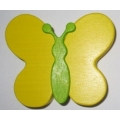 Úchyt Motýlek žlutý