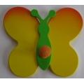 Věšáček Motýlek žlutý