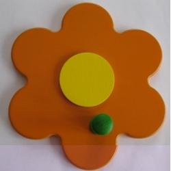 Věšáček Kytička oranžová